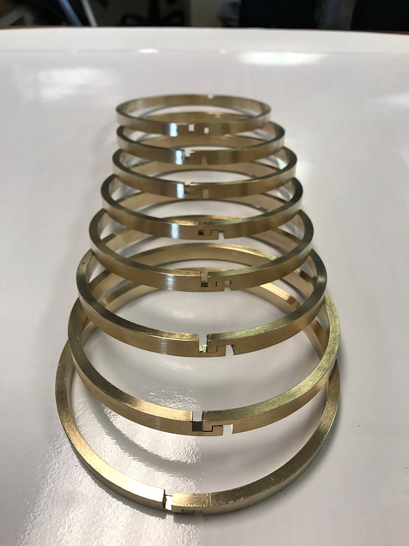 Bronze Piston Rings Ad Pistong Ring Company