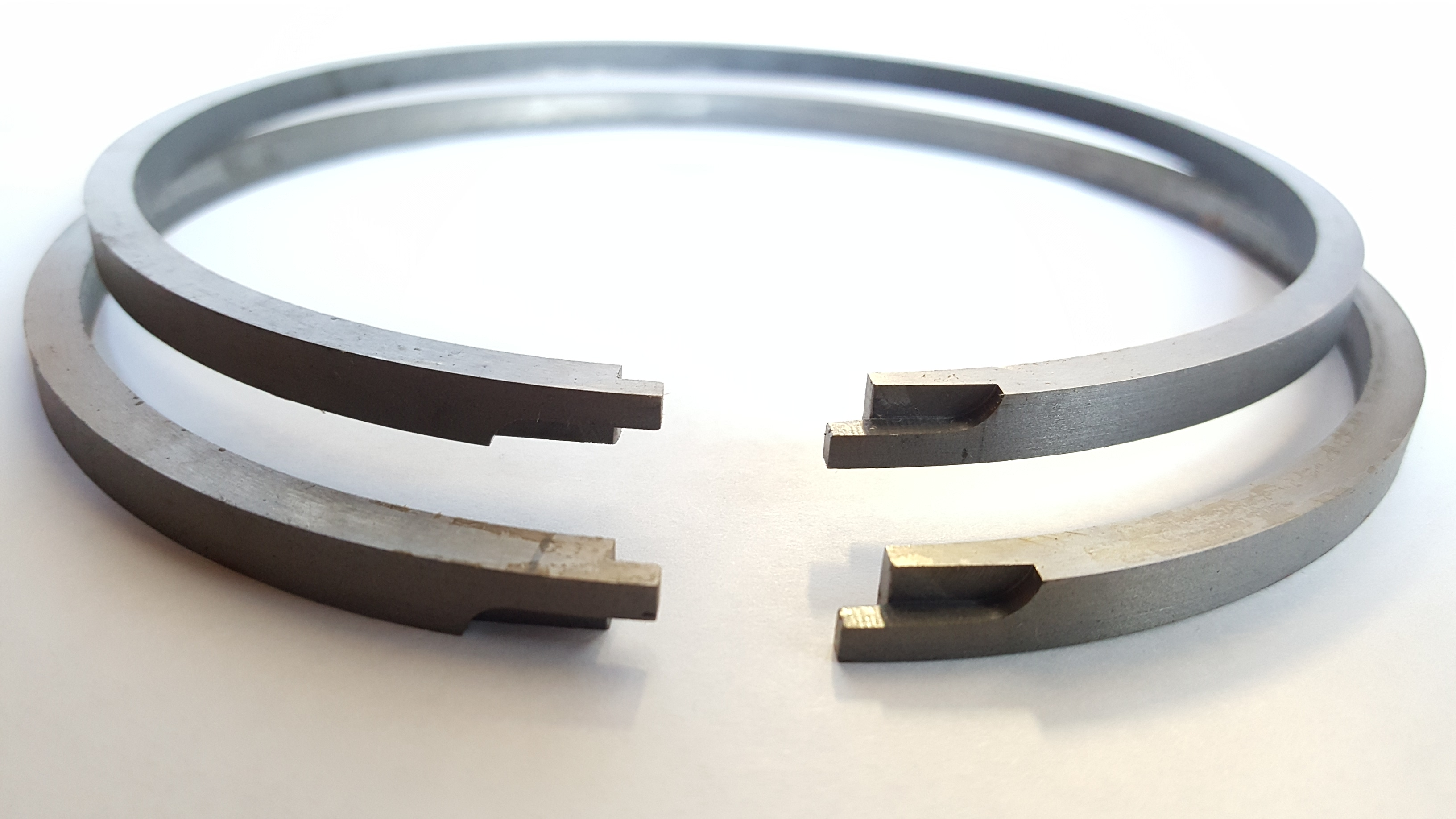 Shurseal piston ring joint configuration