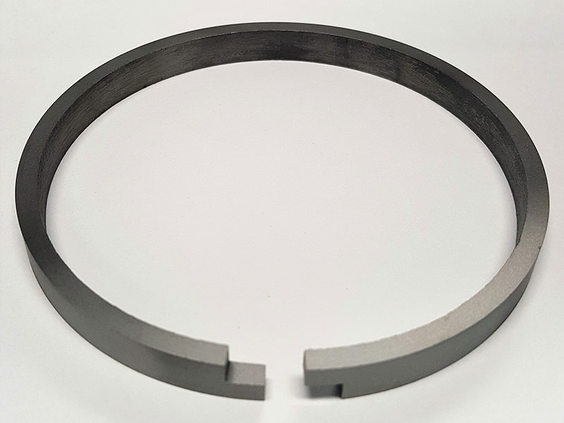 Step Cut Piston Ring