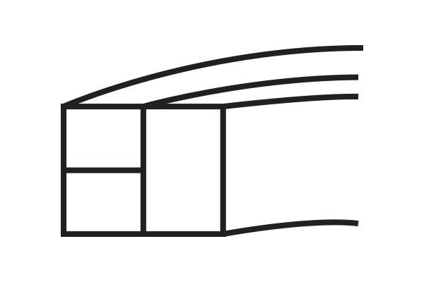 AD Piston Ring Three-Piece Compression