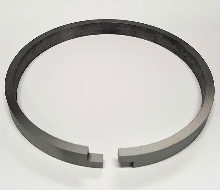Step Cut Piston Ring